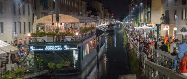 Navigli Mailand Kanal