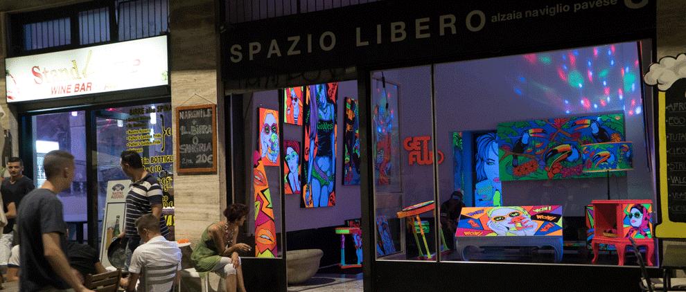 navigli Mailand libero galerie