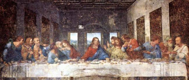 das letzte Abendmahl, leornardo da vinci, mailand