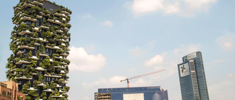 Bosco Vertikale in Porto Nuovo in Mailand