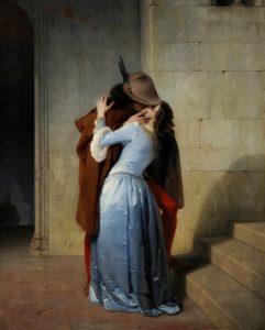 Der Kuss (Il bacio) von Francesco Hayez