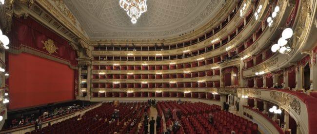 Oper Scala in Mailand Innenansicht